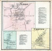 Albion, Fairview, Middleboro or McKean Corners, Erie County 1865